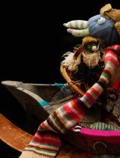 Мастер-класс (7+) по созданию театральных кукол с Сашей Поляковой